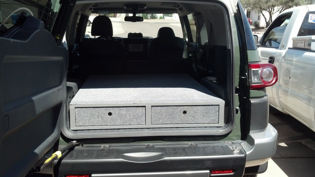 Custom bed for SUV