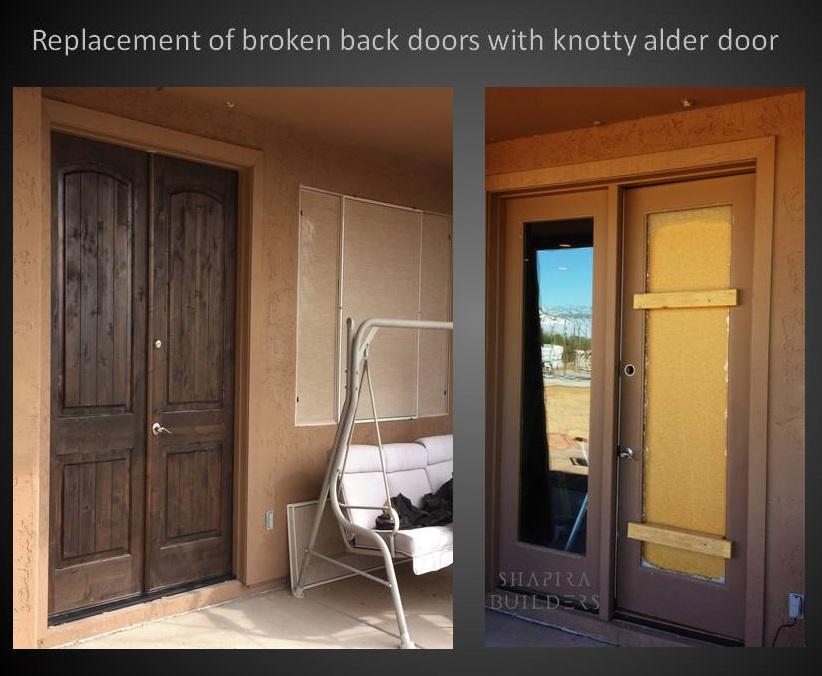 Alder Doors Replacing Broken French Doors