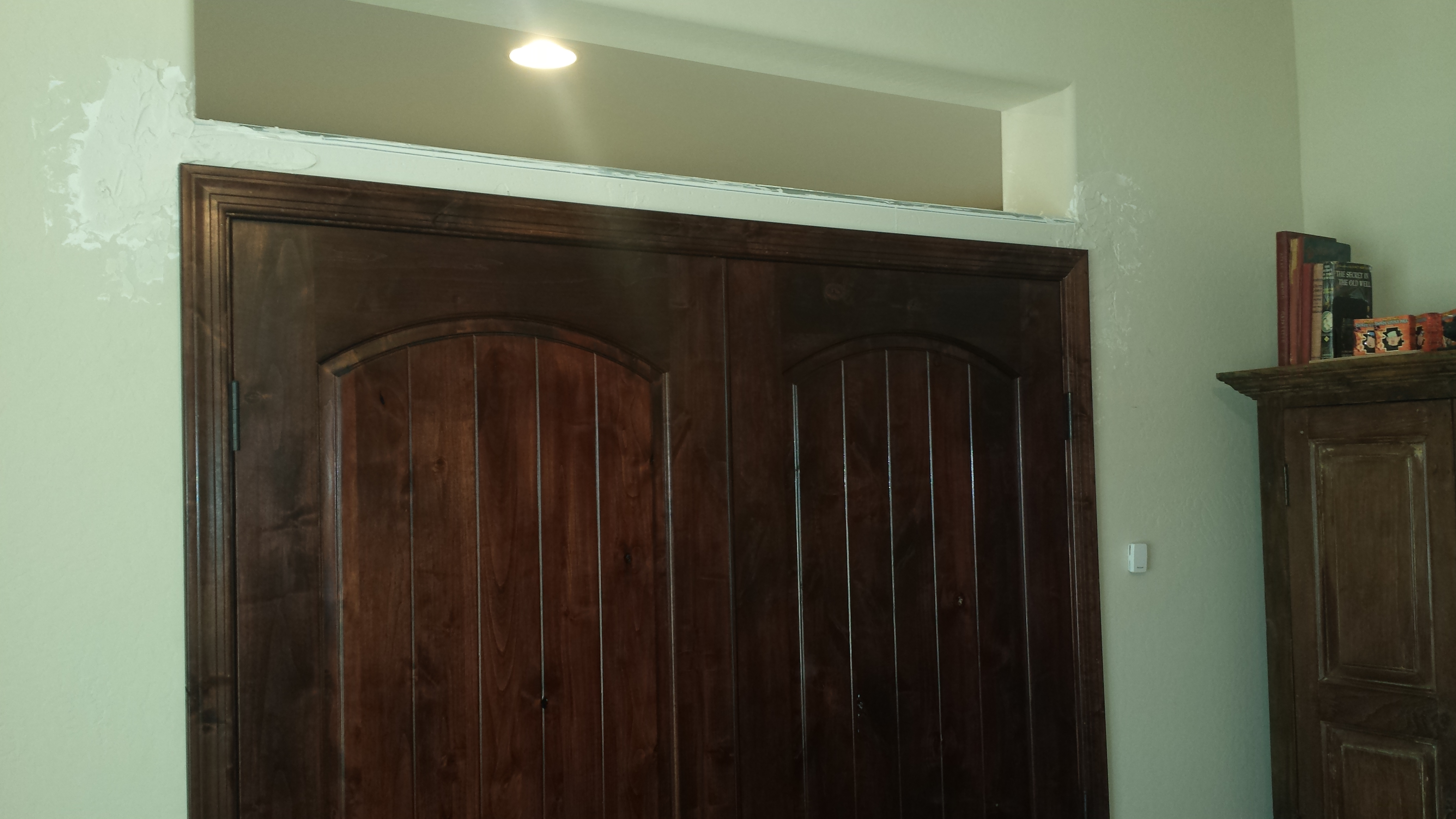 Knotty Alder Doors And Transom