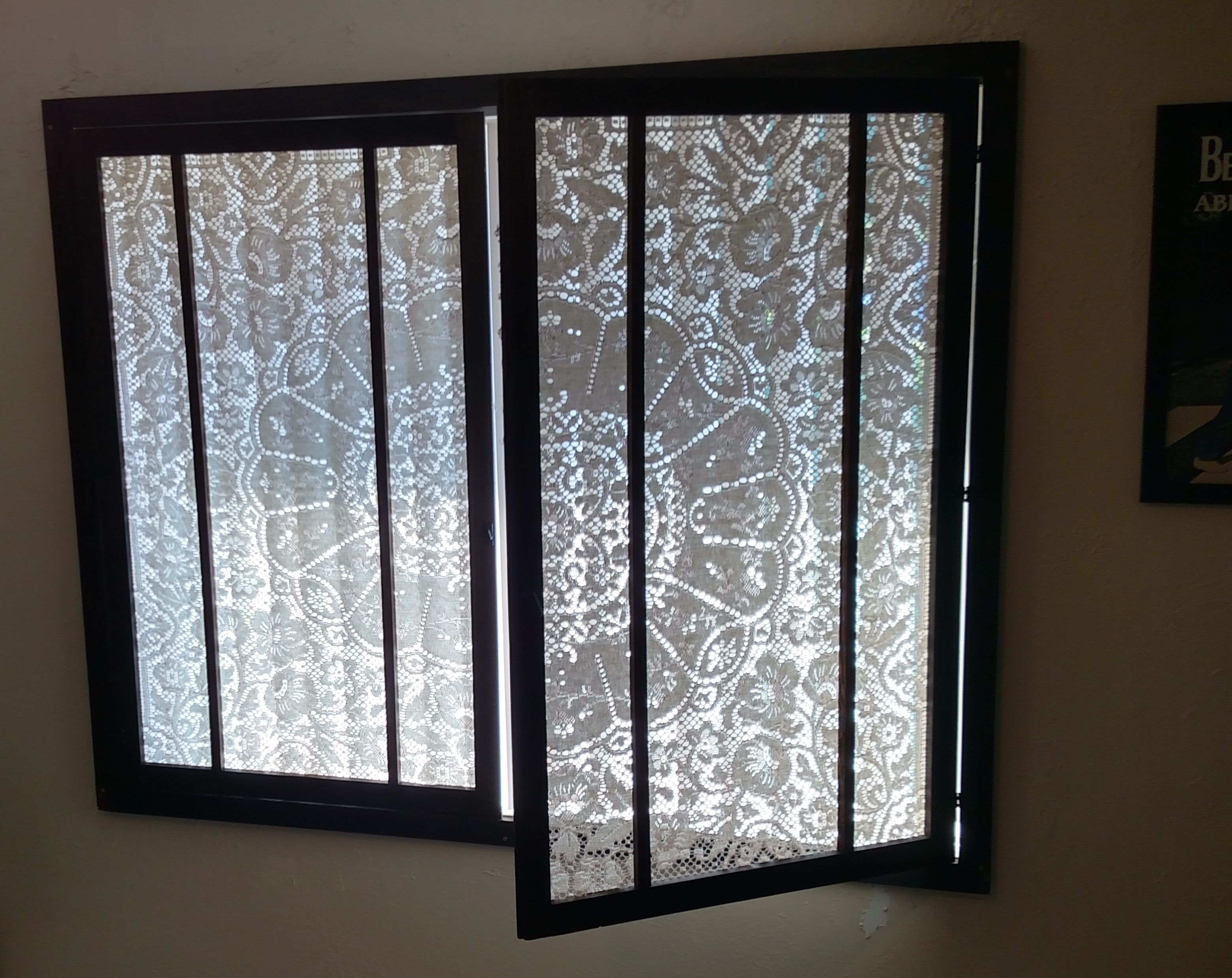 Interior Window Dressing